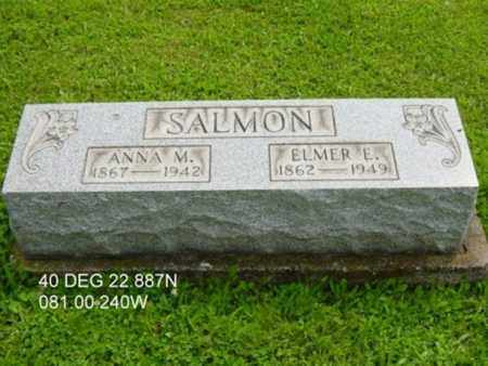 SALMON, ANNA MARGARET - Harrison County, Ohio | ANNA MARGARET SALMON - Ohio Gravestone Photos