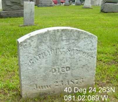 SALMON, CATHARINE - Harrison County, Ohio | CATHARINE SALMON - Ohio Gravestone Photos