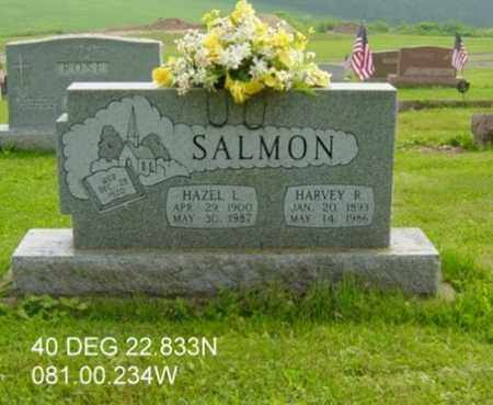 SALMON, HARVEY R. - Harrison County, Ohio | HARVEY R. SALMON - Ohio Gravestone Photos