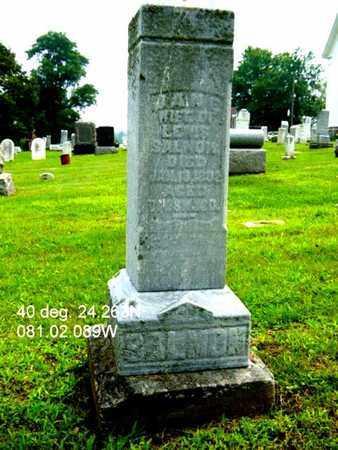 SALMON, JANE - Harrison County, Ohio | JANE SALMON - Ohio Gravestone Photos