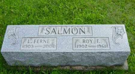 SALMON, ROY FRANKLIN - Harrison County, Ohio | ROY FRANKLIN SALMON - Ohio Gravestone Photos