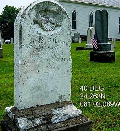 SALMON, LEWIS - Harrison County, Ohio | LEWIS SALMON - Ohio Gravestone Photos