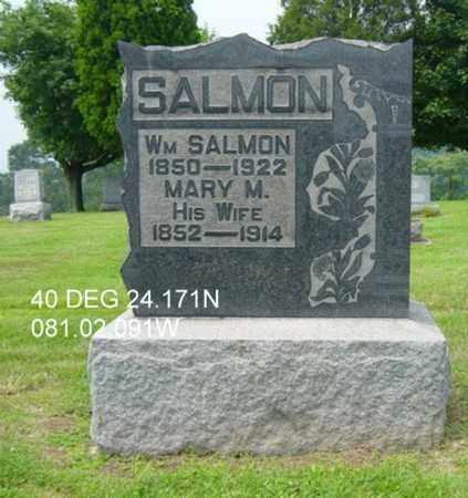 SALMON, WILLIAM - Harrison County, Ohio | WILLIAM SALMON - Ohio Gravestone Photos