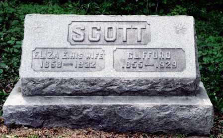 SCOTT, ELIZA E. - Harrison County, Ohio | ELIZA E. SCOTT - Ohio Gravestone Photos