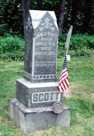 SCOTT, JAMES - Harrison County, Ohio | JAMES SCOTT - Ohio Gravestone Photos
