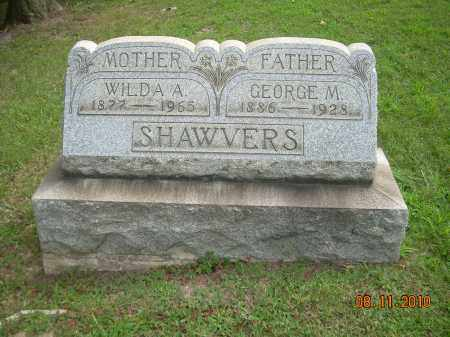 SHAWVER, GEORGE M - Harrison County, Ohio | GEORGE M SHAWVER - Ohio Gravestone Photos