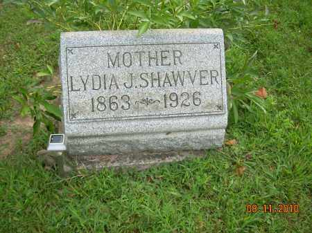 SHAWVER, LYDIA J - Harrison County, Ohio | LYDIA J SHAWVER - Ohio Gravestone Photos
