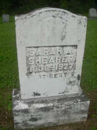 SHEARER, SARAH A - Harrison County, Ohio | SARAH A SHEARER - Ohio Gravestone Photos