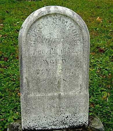 SIMMONS, GEORGE - Harrison County, Ohio   GEORGE SIMMONS - Ohio Gravestone Photos