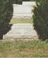 SIMPSON, LINNIE - Harrison County, Ohio | LINNIE SIMPSON - Ohio Gravestone Photos