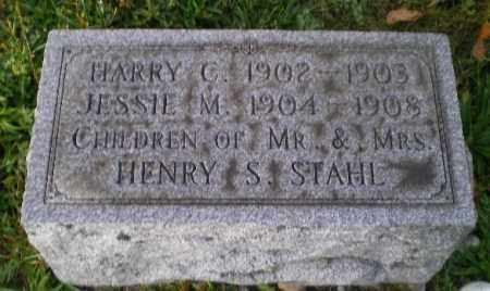 STAHL, JESSIE M - Harrison County, Ohio | JESSIE M STAHL - Ohio Gravestone Photos