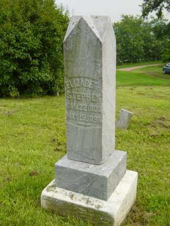 SALMON STEPHEN, ELIZABETH - Harrison County, Ohio   ELIZABETH SALMON STEPHEN - Ohio Gravestone Photos