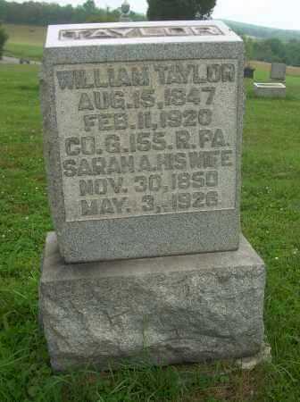 TAYLOR, SARAH A - Harrison County, Ohio | SARAH A TAYLOR - Ohio Gravestone Photos