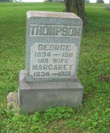 BUSBY THOMPSON, MARGARET - Harrison County, Ohio | MARGARET BUSBY THOMPSON - Ohio Gravestone Photos