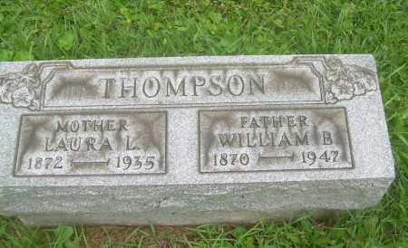 THOMPSON, LAURA L - Harrison County, Ohio | LAURA L THOMPSON - Ohio Gravestone Photos