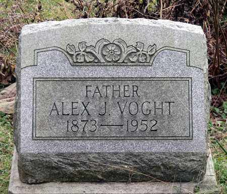 VOGHT, ALEX J. - Harrison County, Ohio | ALEX J. VOGHT - Ohio Gravestone Photos