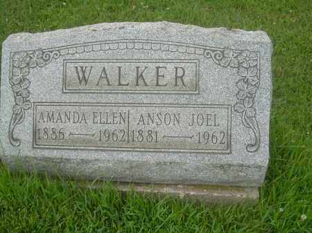 WALKER, ANSON JOEL - Harrison County, Ohio | ANSON JOEL WALKER - Ohio Gravestone Photos