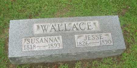 WALLACE, SUSANNA - Harrison County, Ohio | SUSANNA WALLACE - Ohio Gravestone Photos