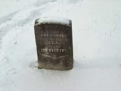 WARNER, JAS. - Harrison County, Ohio | JAS. WARNER - Ohio Gravestone Photos