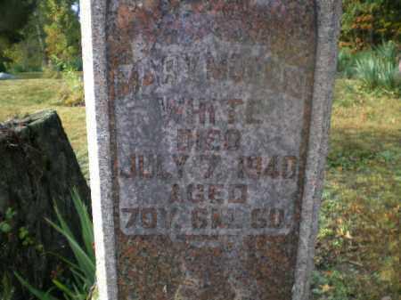 WHITE, MARY - Harrison County, Ohio | MARY WHITE - Ohio Gravestone Photos