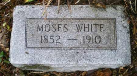 WHITE, MOSES - Harrison County, Ohio | MOSES WHITE - Ohio Gravestone Photos