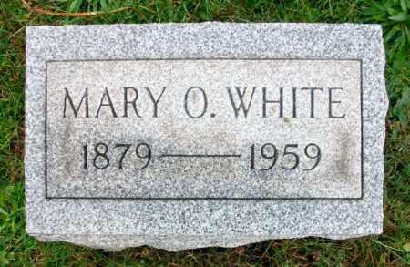 WHITE, MARY O - Harrison County, Ohio   MARY O WHITE - Ohio Gravestone Photos