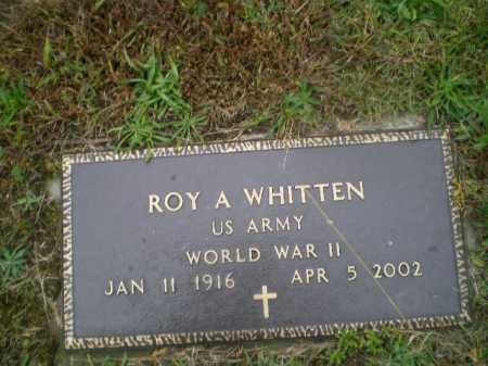 WHITTEN, ROY A. - Harrison County, Ohio | ROY A. WHITTEN - Ohio Gravestone Photos