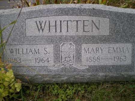 WHITTEN, MARY EMMA - Harrison County, Ohio | MARY EMMA WHITTEN - Ohio Gravestone Photos