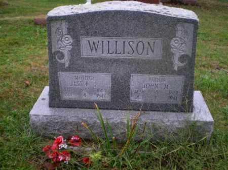 ALEXANDER WILLISON, JESSIE FLORENCE - Harrison County, Ohio | JESSIE FLORENCE ALEXANDER WILLISON - Ohio Gravestone Photos