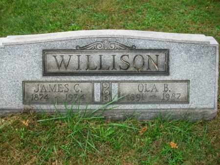WILLISON, OLA B - Harrison County, Ohio | OLA B WILLISON - Ohio Gravestone Photos