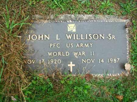 WILLISON, JOHN L SR. - Harrison County, Ohio | JOHN L SR. WILLISON - Ohio Gravestone Photos