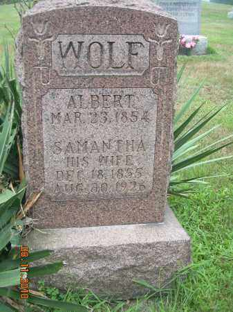 HURLESS WOLF, SAMANTHA - Harrison County, Ohio | SAMANTHA HURLESS WOLF - Ohio Gravestone Photos