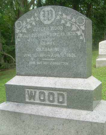WOOD, CATHERINE - Harrison County, Ohio | CATHERINE WOOD - Ohio Gravestone Photos