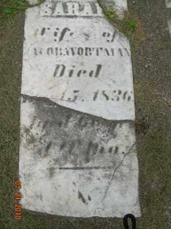 WORTMAN, SARAH - Harrison County, Ohio | SARAH WORTMAN - Ohio Gravestone Photos