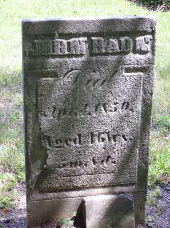 HAUN, JOHN - Harrison County, Ohio | JOHN HAUN - Ohio Gravestone Photos