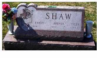 SHAW, RANDY - Highland County, Ohio | RANDY SHAW - Ohio Gravestone Photos