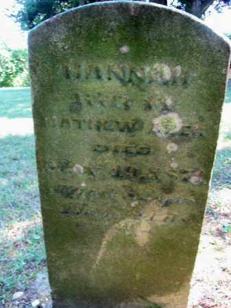 ABER, HANNAH - Highland County, Ohio | HANNAH ABER - Ohio Gravestone Photos