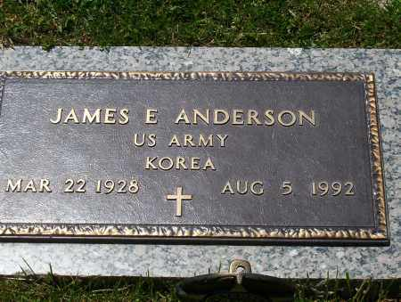 ANDERSON, JAMES E. - Highland County, Ohio | JAMES E. ANDERSON - Ohio Gravestone Photos