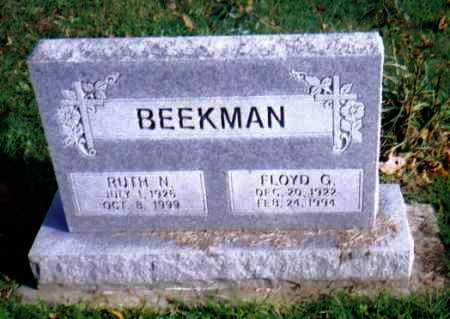 BEEKMAN, RUTH N. - Highland County, Ohio | RUTH N. BEEKMAN - Ohio Gravestone Photos