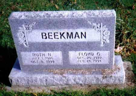 BEEKMAN, RUTH N. - Highland County, Ohio | RUTH N. BEEKMAN - Ohio Gravestone Photos