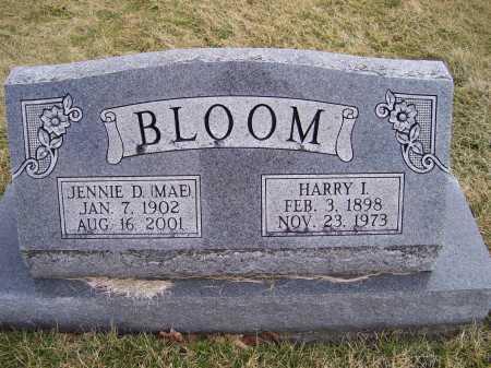 BLOOM, HARRY I. - Highland County, Ohio | HARRY I. BLOOM - Ohio Gravestone Photos