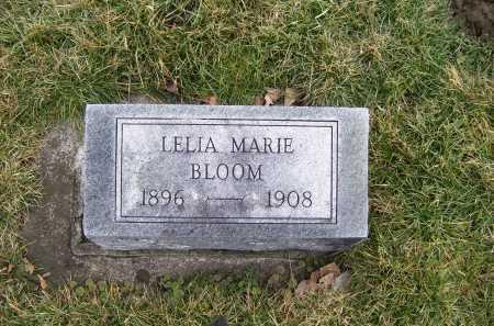 BLOOM, LELIA MARIE - Highland County, Ohio | LELIA MARIE BLOOM - Ohio Gravestone Photos