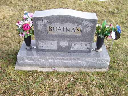 BOATMAN, ROSA M. - Highland County, Ohio | ROSA M. BOATMAN - Ohio Gravestone Photos