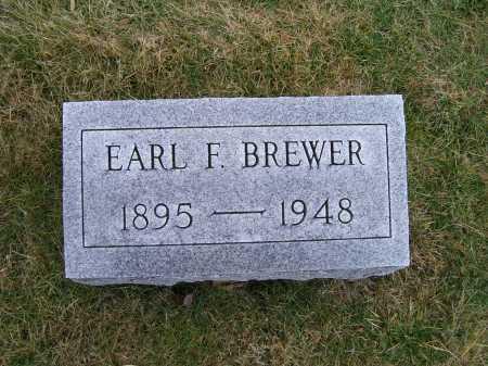 BREWER, EARL F. - Highland County, Ohio   EARL F. BREWER - Ohio Gravestone Photos