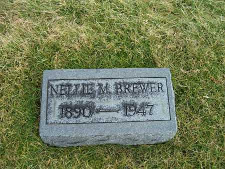 BREWER, NELLIE M. - Highland County, Ohio   NELLIE M. BREWER - Ohio Gravestone Photos