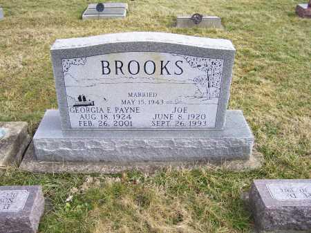 PAYNE BROOKS, GEORGIA E. - Highland County, Ohio | GEORGIA E. PAYNE BROOKS - Ohio Gravestone Photos