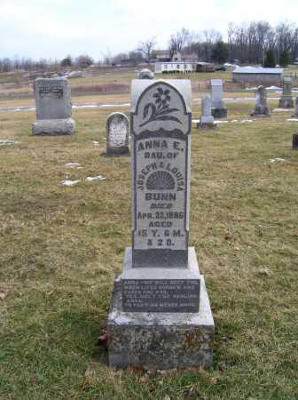 BUNN, ANNA E. - Highland County, Ohio | ANNA E. BUNN - Ohio Gravestone Photos