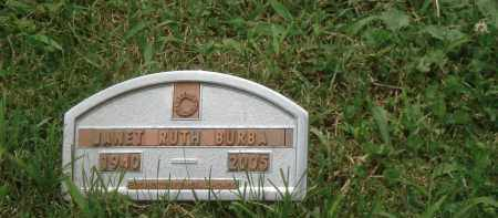 RUTH BURBA, JANET - Highland County, Ohio | JANET RUTH BURBA - Ohio Gravestone Photos