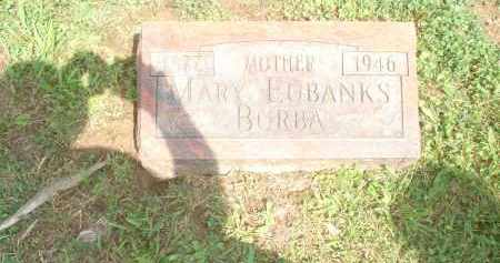 EUBANKS BURBA, MARY - Highland County, Ohio | MARY EUBANKS BURBA - Ohio Gravestone Photos