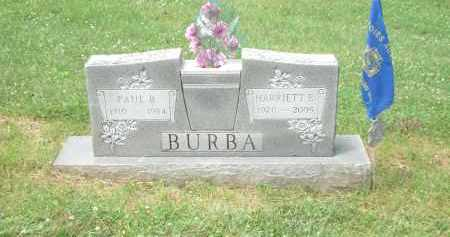 BURBA, PAUL - Highland County, Ohio | PAUL BURBA - Ohio Gravestone Photos